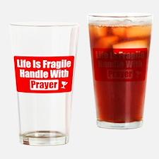 Funny Christian Prayer Drinking Glass
