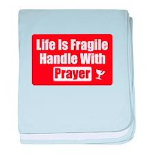 Funny Christian Prayer baby blanket