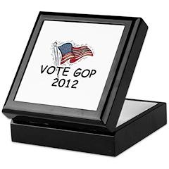 Vote GOP 2012 Keepsake Box