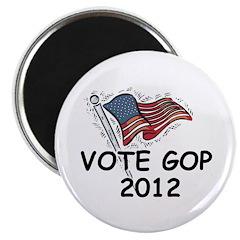 Vote GOP 2012 Magnet
