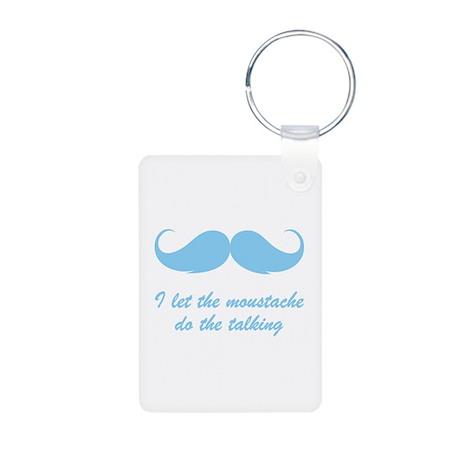 Moustache talking