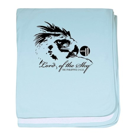 The Philippine Eagle 2 baby blanket