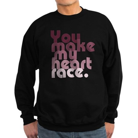 'Heart Race' Sweatshirt (dark)