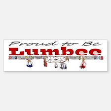Proud to be Lumbee Bumper Bumper Sticker