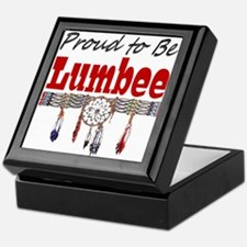 Proud to be Lumbee Keepsake Box
