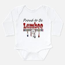 Proud to be Lumbee Long Sleeve Infant Bodysuit