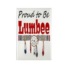 Proud to be Lumbee Rectangle Magnet