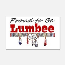 Proud to be Lumbee Car Magnet 20 x 12