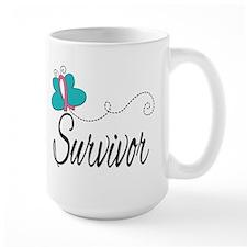 H. Breast Cancer Survivor Mug