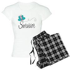 H. Breast Cancer Survivor Pajamas