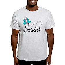 H. Breast Cancer Survivor T-Shirt