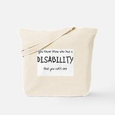 HIdden Disability - Tote Bag