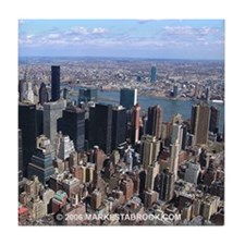 Manhattan New York City Tile Coaster