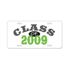 Class of 2009 Aluminum License Plate