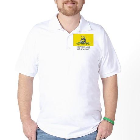 Gasdsen Flag Golf Shirt