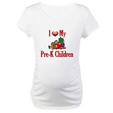 I Love My Pre-K Kids Shirt
