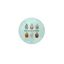 Crazy Cat Lady In Training Mini Button (10 pack)