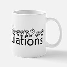 Congratulations Mug