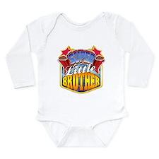 Super Little Brother Onesie Romper Suit
