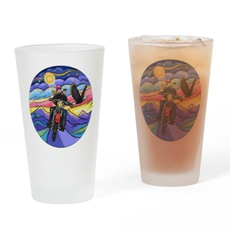 MCycle - Eagle #1 Drinking Glass