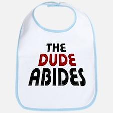 'The Dude Abides' Bib