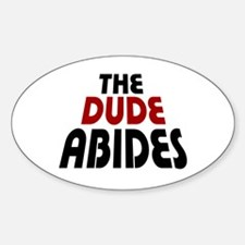 'The Dude Abides' Bumper Stickers