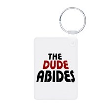 'The Dude Abides' Keychains