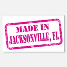 MADE IN JACKSONVILLE Decal