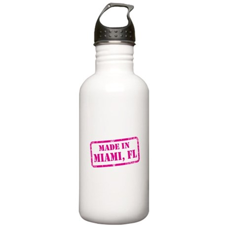 MADE IN MIAMI Stainless Water Bottle 1.0L