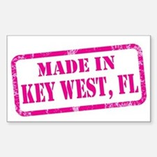 MADE IN KEY WEST Decal
