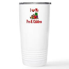 I Love My Pre-K Students Travel Mug