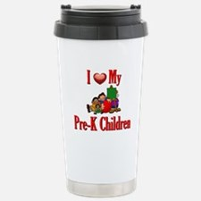 I Love My Pre-K Students Travel Mug