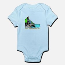 What Would Buddha Do? Gifts Infant Bodysuit