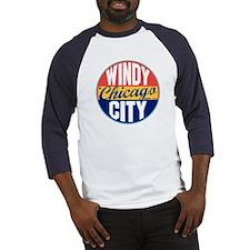 Chicago Vintage Label Baseball Jersey