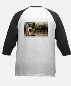 New Year - Golden Elegance - Rottie Tee