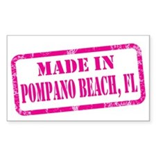 MADE IN POMPANO BEACH Decal