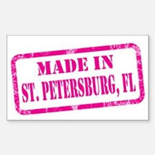 MADE IN ST. PETERBURG Decal