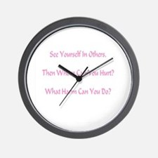 What Harm Can You Do? Gifts Wall Clock