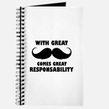 great moustache, great responsability