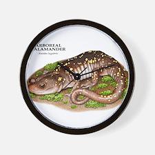 Arboreal Salamander Wall Clock