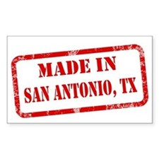 MADE IN SAN ANTONIO Decal