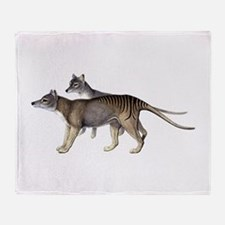 Thylacine Throw Blanket