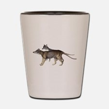Thylacine Shot Glass
