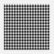 HOUNDSTOOTH Tile Coaster