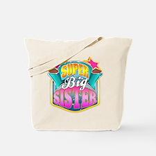 Pink Super Big Sister Tote Bag