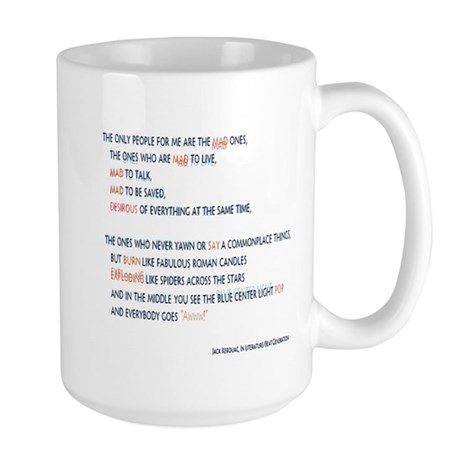 Kerouac - the mad ones copy Mugs