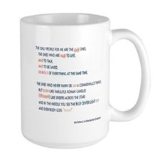 Kerouac - the mad ones copy Mugs
