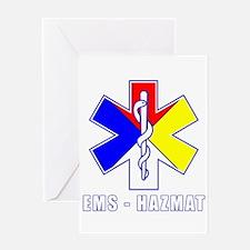 EMS-HAZMAT Shirts Greeting Card