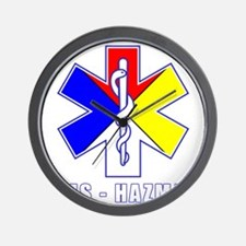 EMS-HAZMAT Shirts Wall Clock