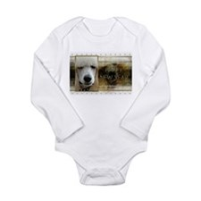 New Year - Golden Elegance - Poodle Long Sleeve In